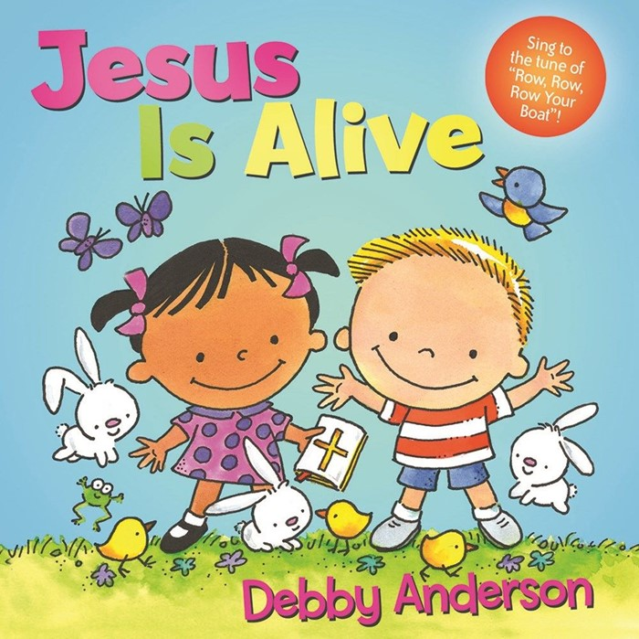 Jesus is Alive (Board Book)