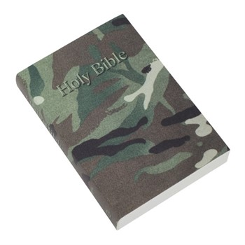 KJV Pocket Reference Bible, Camouflage (Paperback)