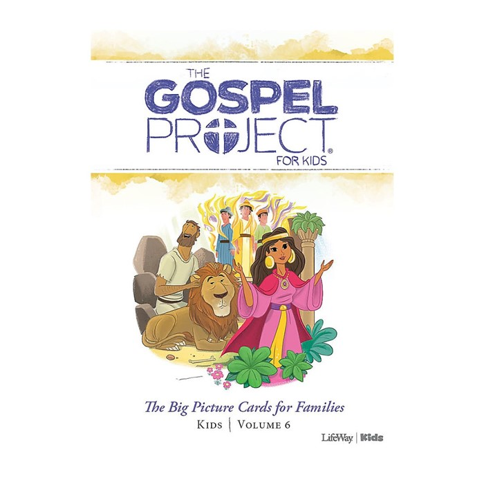 Gospel Project: Kids Big Picture Cards, Winter 2020 (Cards)