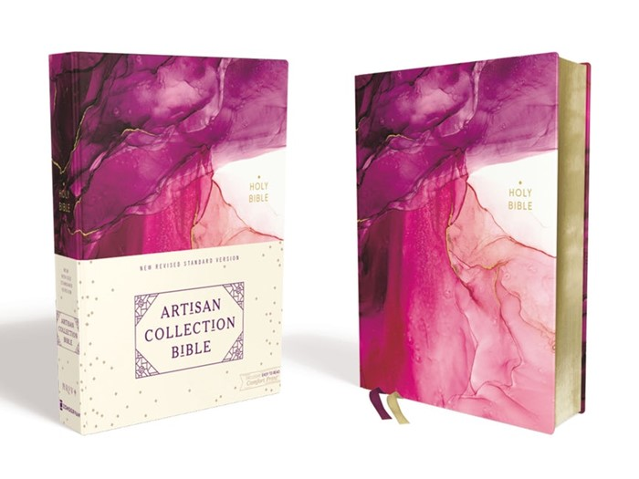 NRSV Artisan Collection Bible, Pink (Hard Cover)