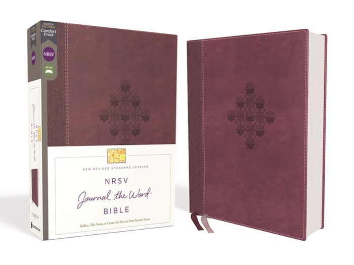 NRSV Journal the Word Bible, Burgundy (Imitation Leather)