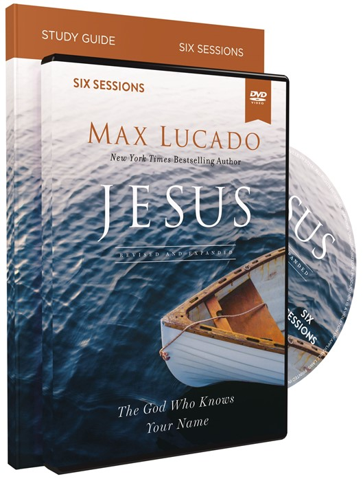 Jesus Study Guide with DVD (Paperback w/DVD)