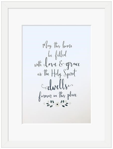 May This Home Framed Print (6x4) (General Merchandise)