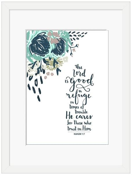 The Lord is Good Framed Print (6x4) (General Merchandise)