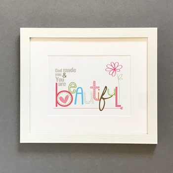 Beautiful Framed Print (7x5) (General Merchandise)