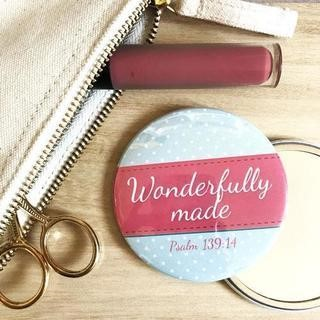Wonderfully Made Pocket Mirror (General Merchandise)