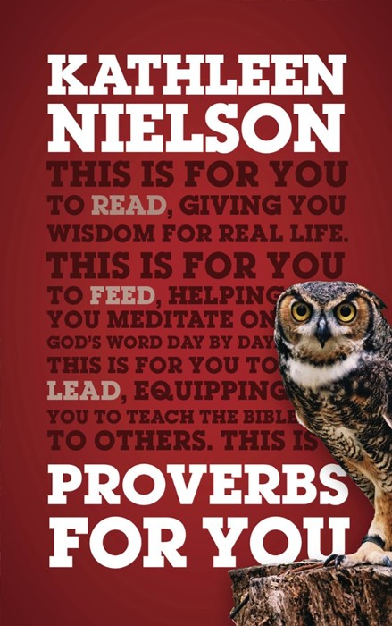 Proverbs For You (Paperback)