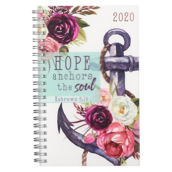 Hope Anchors 2020 Wirebound Daily Planner (Spiral Bound)