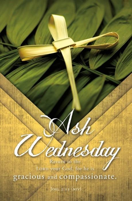 Ash Wednesday Bulletin (pack of 100) (Bulletin)