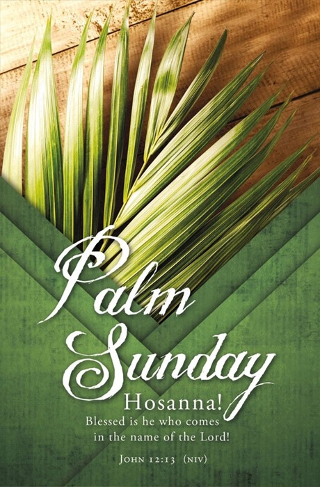 Palm Sunday Bulletin (pack of 100) (Bulletin)