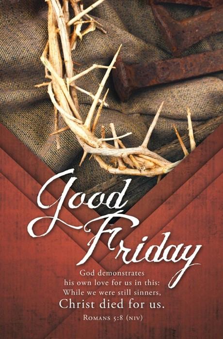 Good Friday Bulletin (pack of 100) (Bulletin)