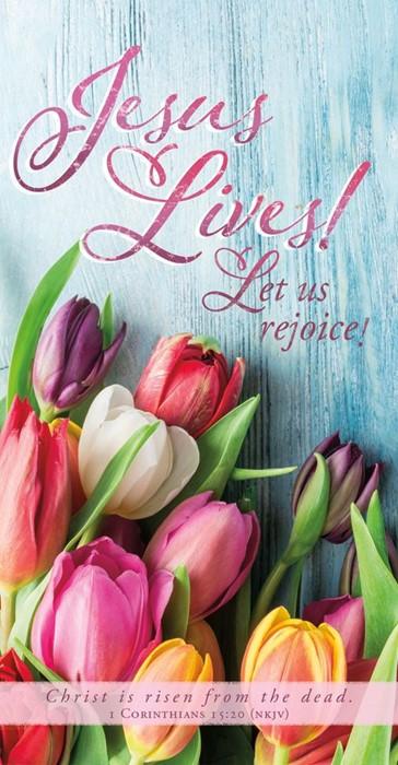 Jesus Lives! Easter Offering Envelope (pack of 100) (Bulletin)