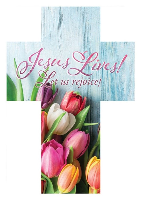 Jesus Lives! Easter Bookmark (pack of 25) (Bookmark)