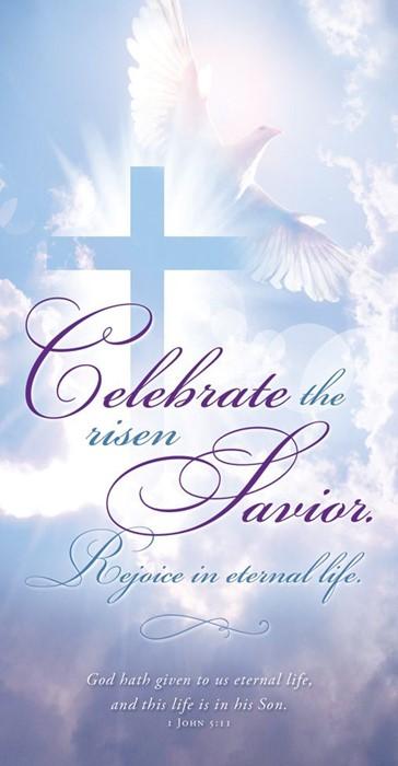 Celebrate the Risen Savior Easter Offering Envelope (100) (Bulletin)