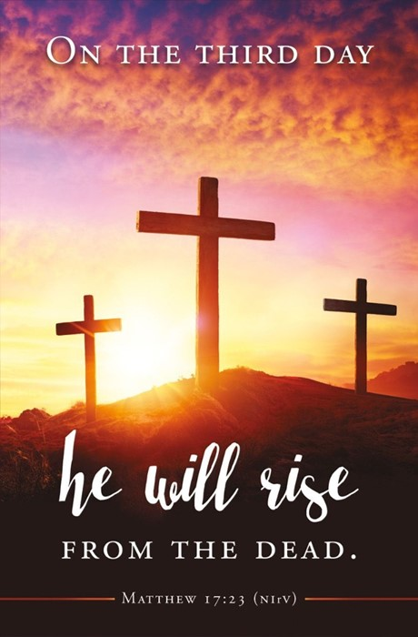 On the Third Day Easter Bulletin (pack of 100) (Bulletin)