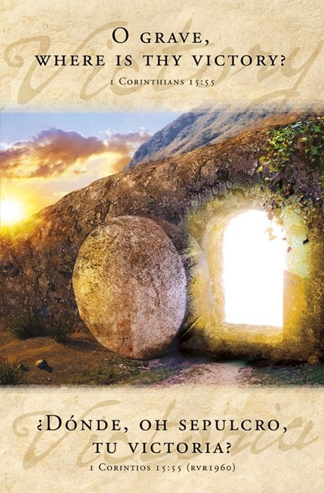 O Grave Where is Thy Victory? Bulletin (pack of 100) (Bulletin)