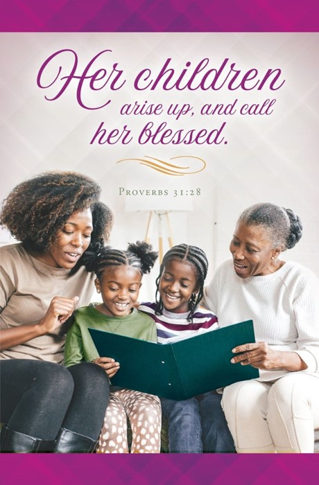 Mother's Day Heritage Bulletin (pack of 100) (Bulletin)