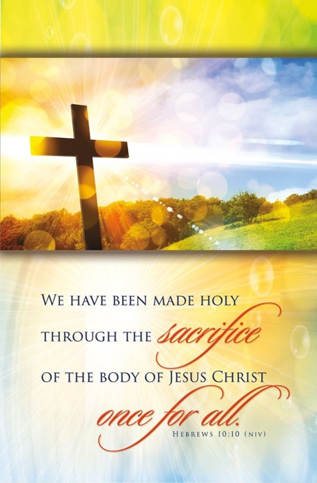 We Have Been Made Holy Bulletin (pack of 100) (Bulletin)