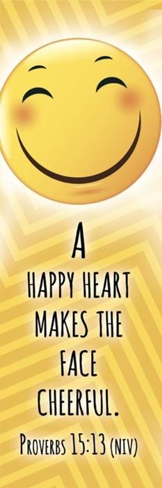 Happy Heart Kids Bookmark (pack of 25) (Bookmark)