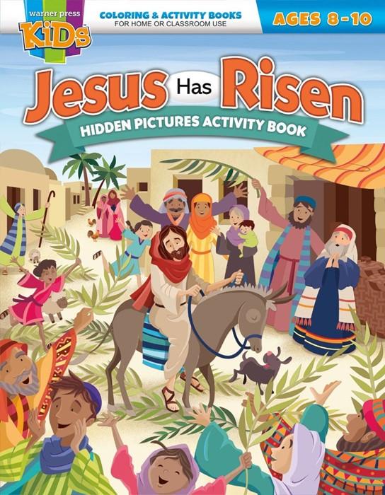 Jesus Has Risen Hidden Pictures Activity Book (Paperback)