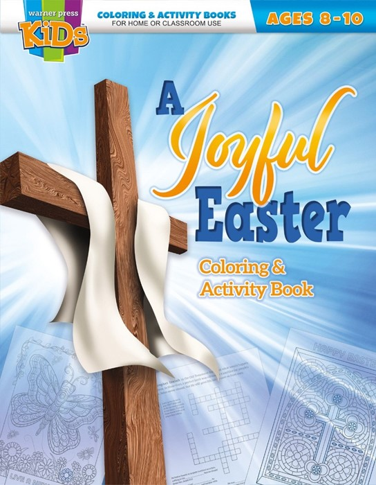 Joyful Easter Coloring and Activity Book, A (Paperback)