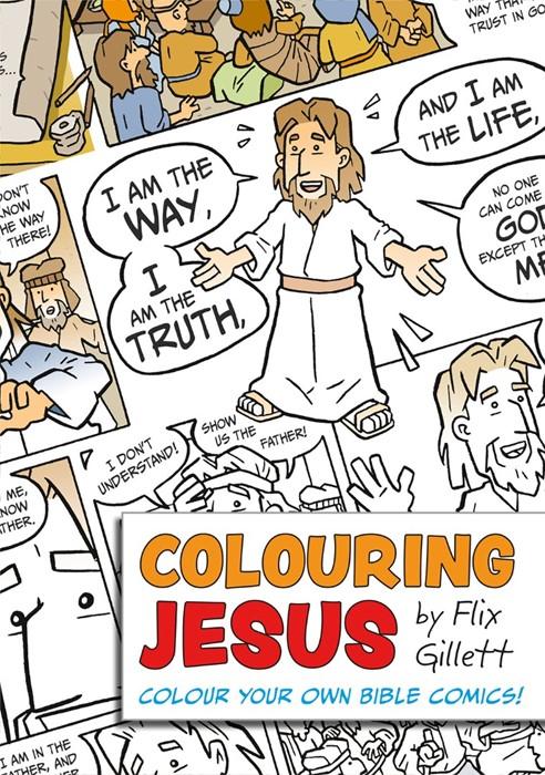 Colouring Jesus (Paperback)