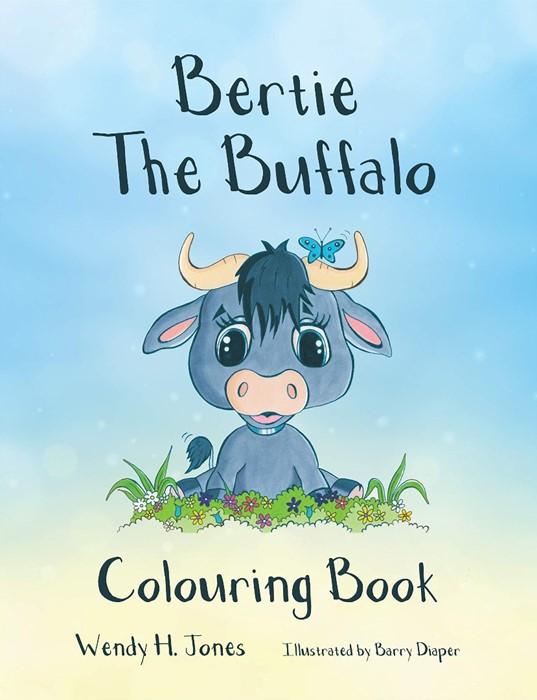 Bertie the Buffalo Colouring Book (Paperback)