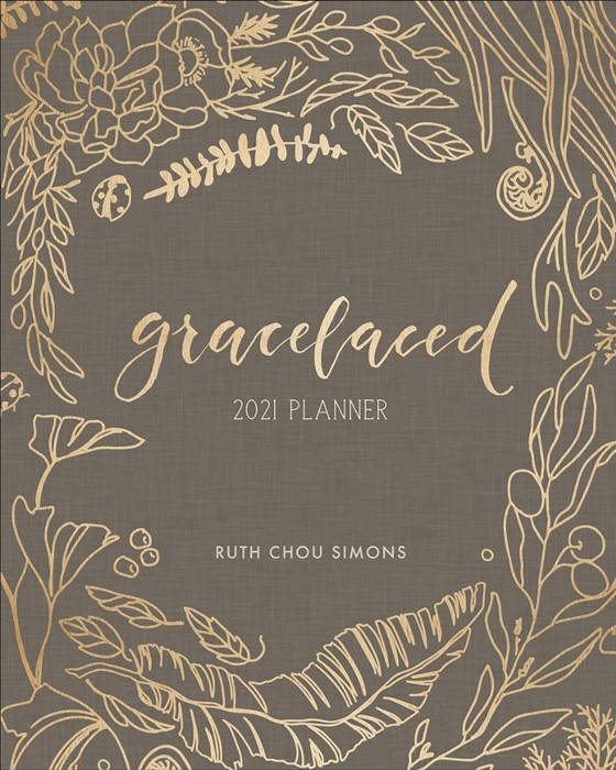 GraceLaced 2021 12-Month Planner (Hard Cover)