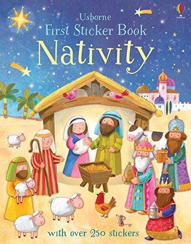 Nativity First Sticker Book (Paperback)