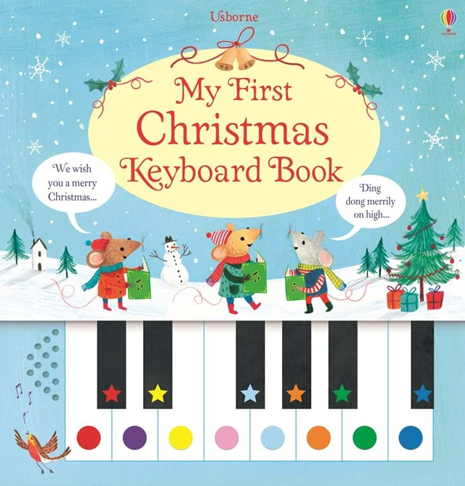 My First Christmas Keyboard Book (Hard Cover)