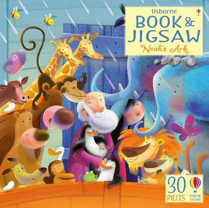 Book and Jigsaw: Noah's Ark (General Merchandise)