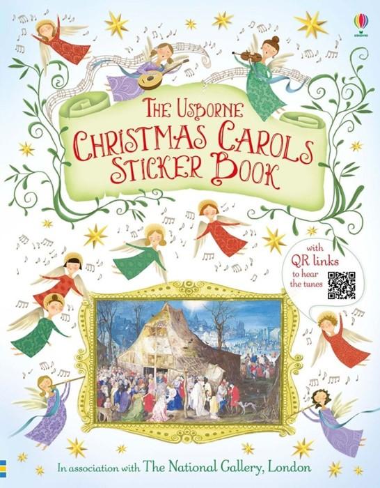 Christmas Carols Sticker Book (Paperback)