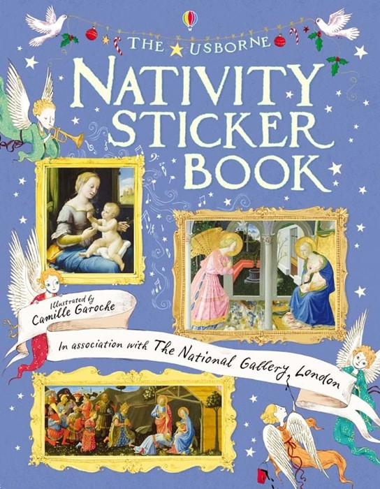 Nativity Sticker Book (Paperback)