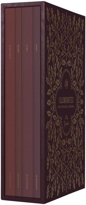 ESV Illuminated Scripture Journal: Gospels Set (Paperback)