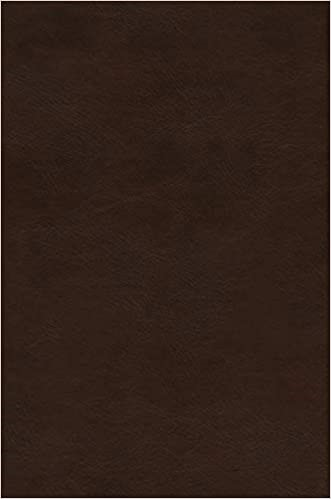 ESV Preaching Bible (TruTone over Board, Deep Brown) (Imitation Leather)