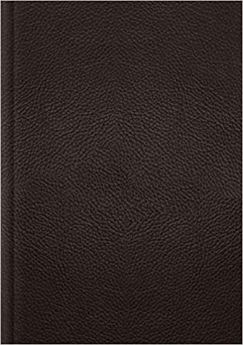 ESV Single Column Journaling Bible, Large Print (Genuine Leather)