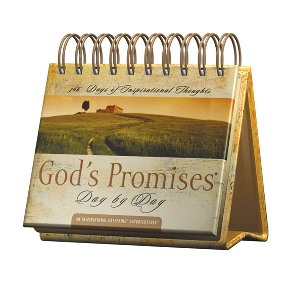 Day Brightner: God's Promises Day By Day (Spiral Bound)