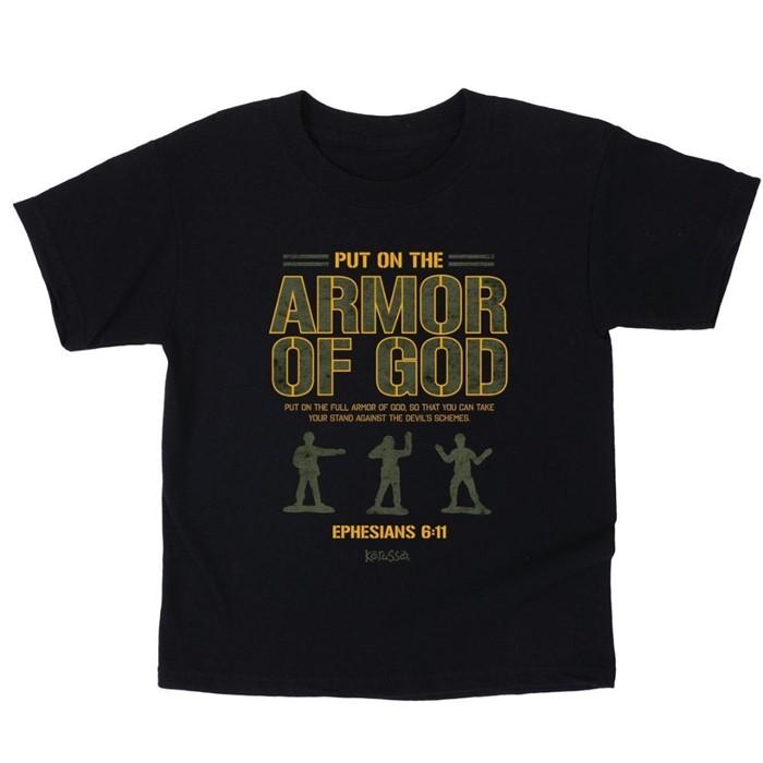 Armor of God Kids T-Shirt, Large (General Merchandise)