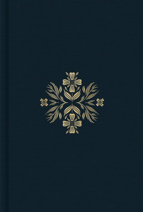 ESV Women's Study Bible (Cloth over Board, Dark Teal) (Hard Cover)