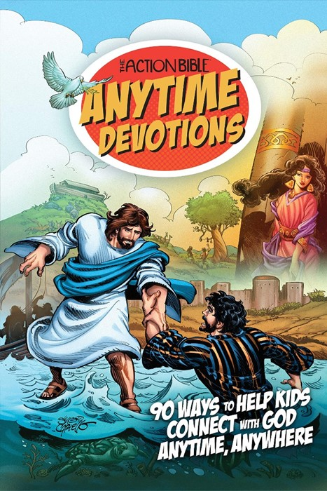 The Action Bible Anytime Devotions (Paperback)