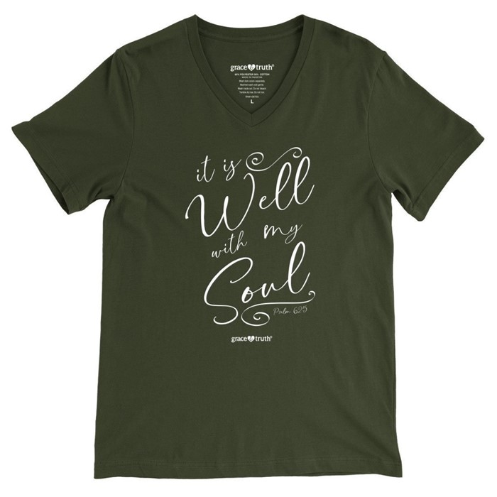 It Is Well Grace & Truth T-Shirt, Medium (General Merchandise)
