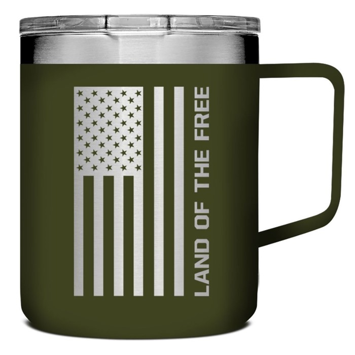 Land of the Free Stainless Steel Mug with Handle (General Merchandise)