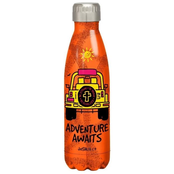 Adventure Awaits Stainless Steel Water Bottle (General Merchandise)