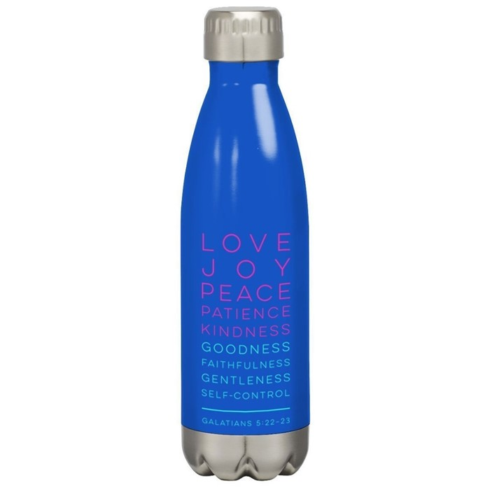 Fruits of the Spirit Stainless Steel Water Bottle (General Merchandise)
