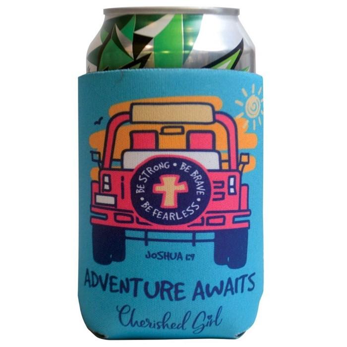 Adventure Awaits Cherished Girl Can Cooler (General Merchandise)