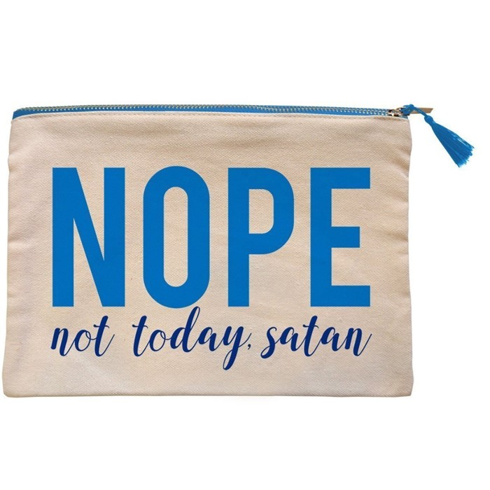 Nope Canvas Zipper Bag (General Merchandise)