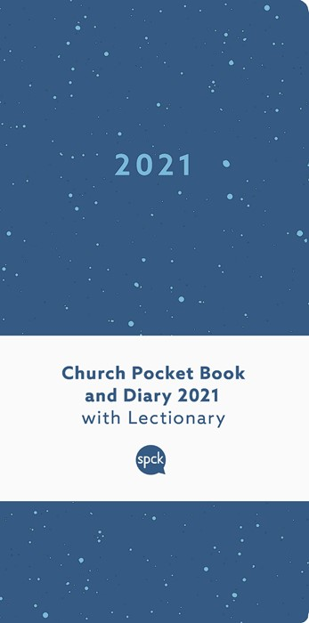 Church Pocket Book and Diary 2021, Blue Sea (Diary)