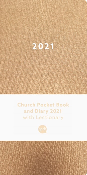 Church Pocket Book and Diary 2021, Bronze (Diary)