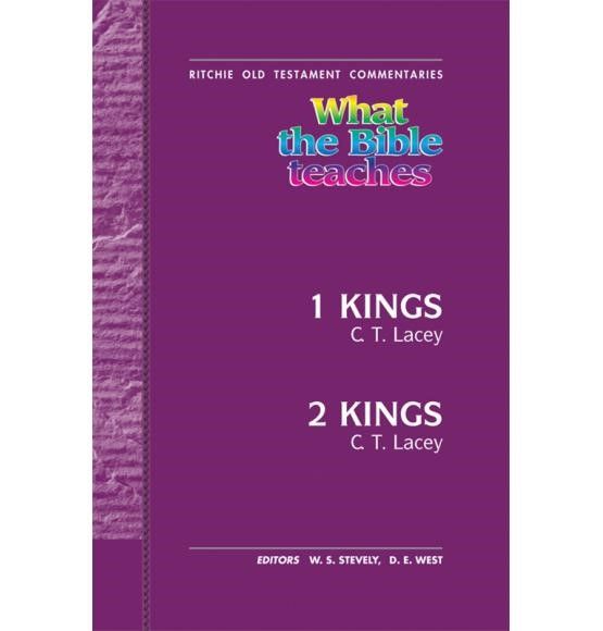 What the Bible Teaches: 1 & 2 Kings (Paperback)