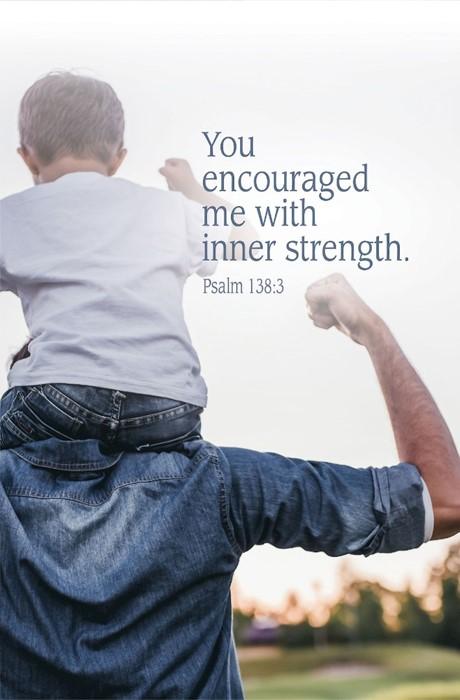 Inner Strength Father's Day Bulletin (Pkg of 50) (Bulletin)